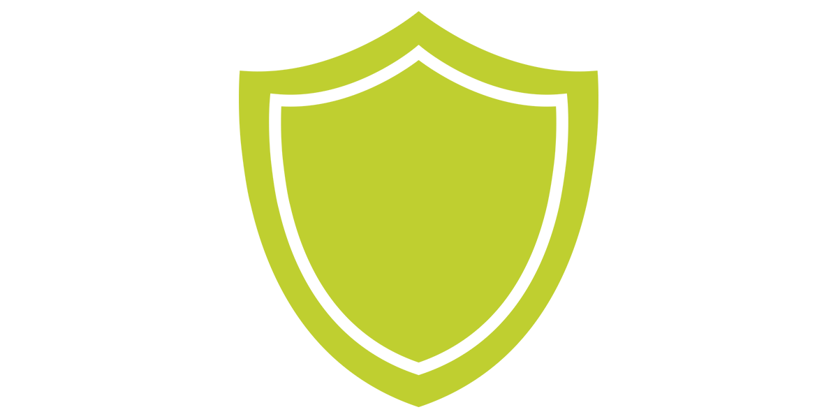 LimeGreen Accountancy Shield Icon